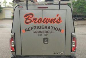 custom vinyl vehicle lettering